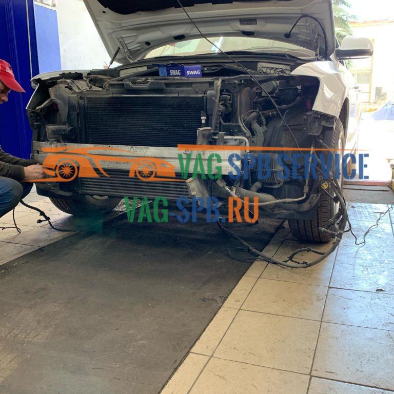 Замена Цепи Audi Q5 в СПБ