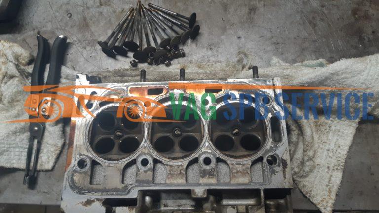 ремонт двигателя ауди в спб