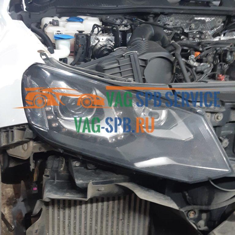 Touareg NF, ремонт радиатора в СПБ