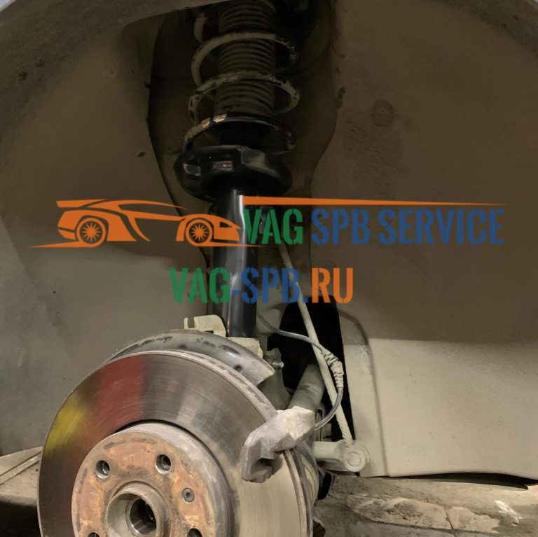 VW ремонт подвески в СПБ