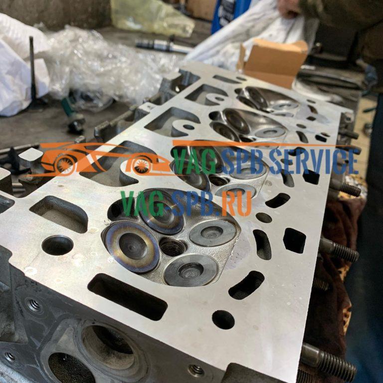 VW golf ремонт двигателя в СПБ сервис