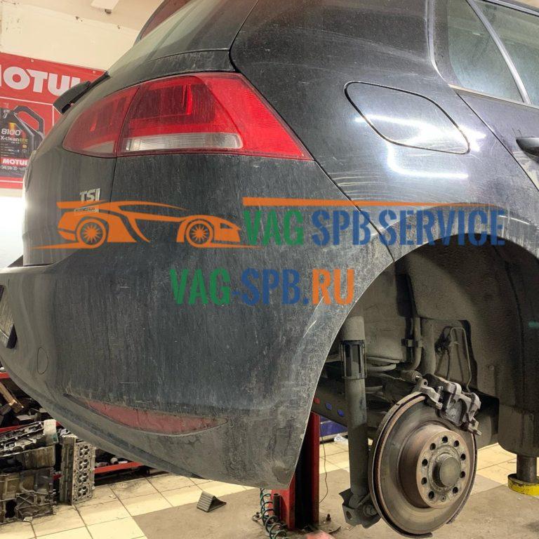 замена тормозных колодок VW в СПБ сервис